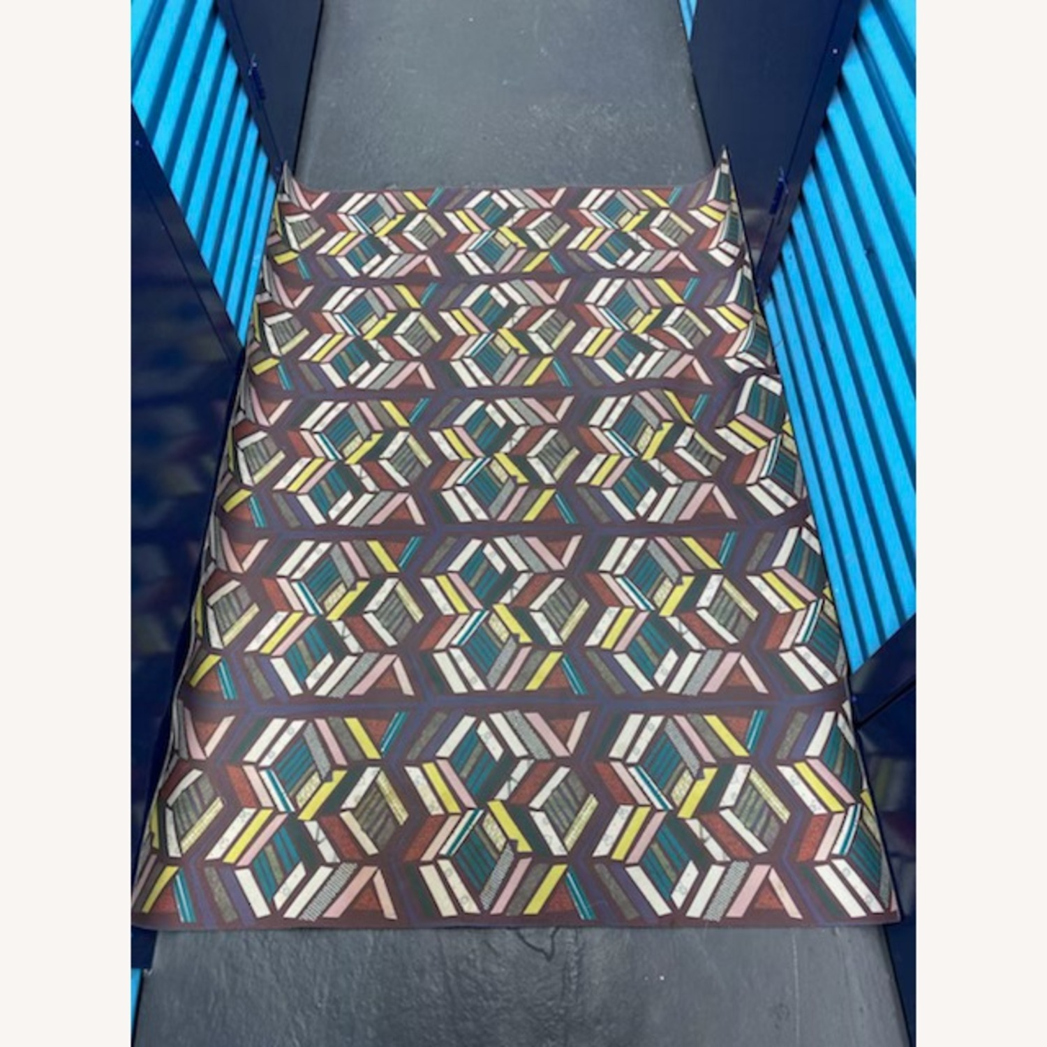 Domestic Construction Patterned Floor Mats (2) - image-1