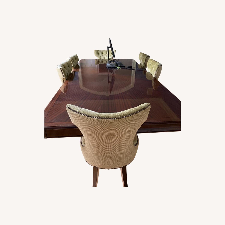 Custom Large Dining w 8 Chairs - image-0