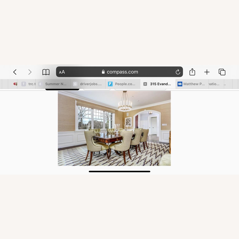 Custom Large Dining w 8 Chairs - image-5