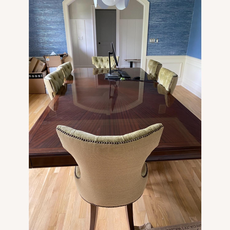 Custom Large Dining w 8 Chairs - image-1