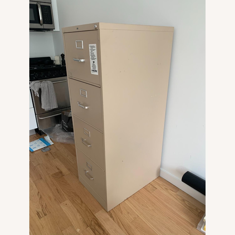 Hon Furniture 4-Drawer 52 Metal File Cabinet - image-3