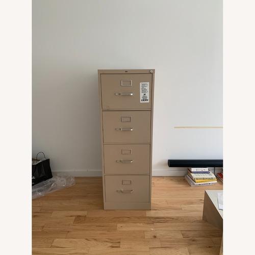 Used Hon Furniture 4-Drawer 52 Metal File Cabinet for sale on AptDeco