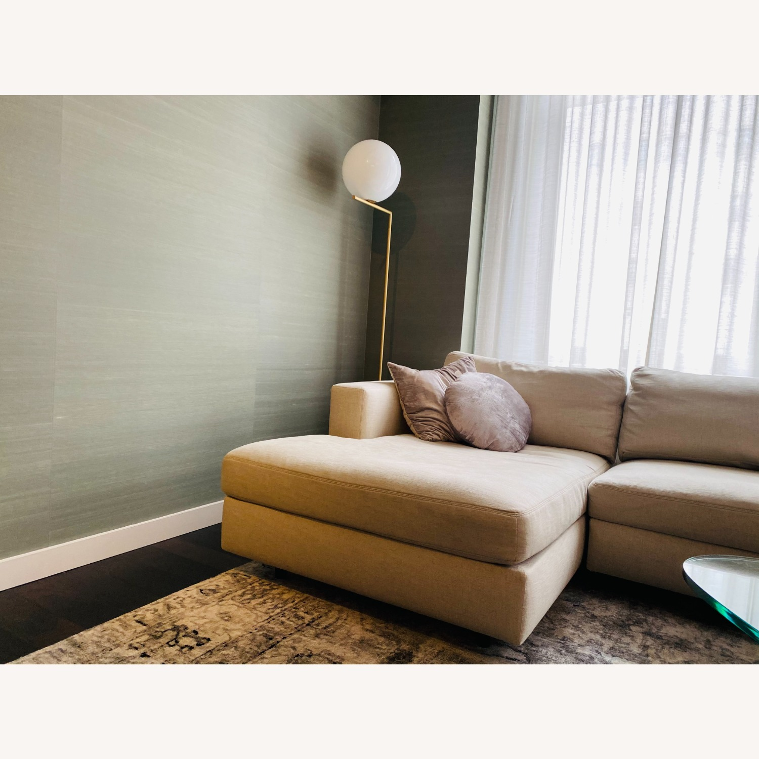 Design Within Reach Sofa w/ Chaise - image-4
