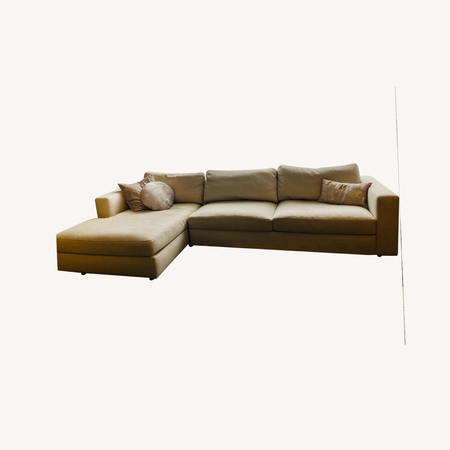 Design Within Reach Sofa w/ Chaise - image-0