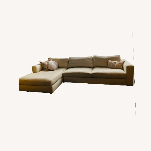 Used Design Within Reach Sofa w/ Chaise for sale on AptDeco