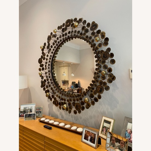 Used Jonathan Adler C Jere Raindrops Mirror for sale on AptDeco
