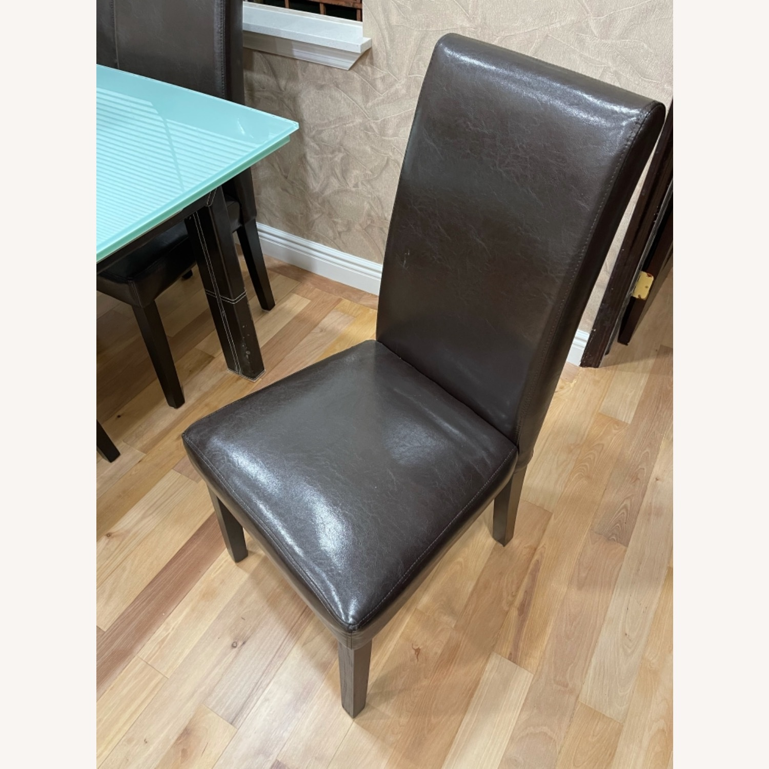 Esf Dining Table with 6 Coaster Chairs - image-3
