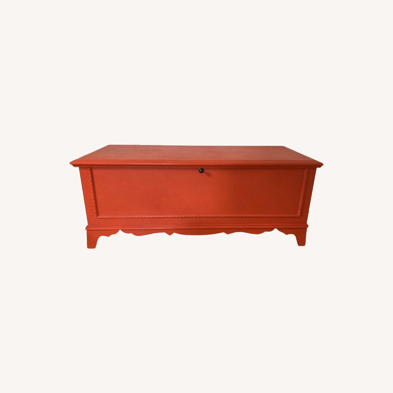 Charming Refinished Cedar Chest - image-0
