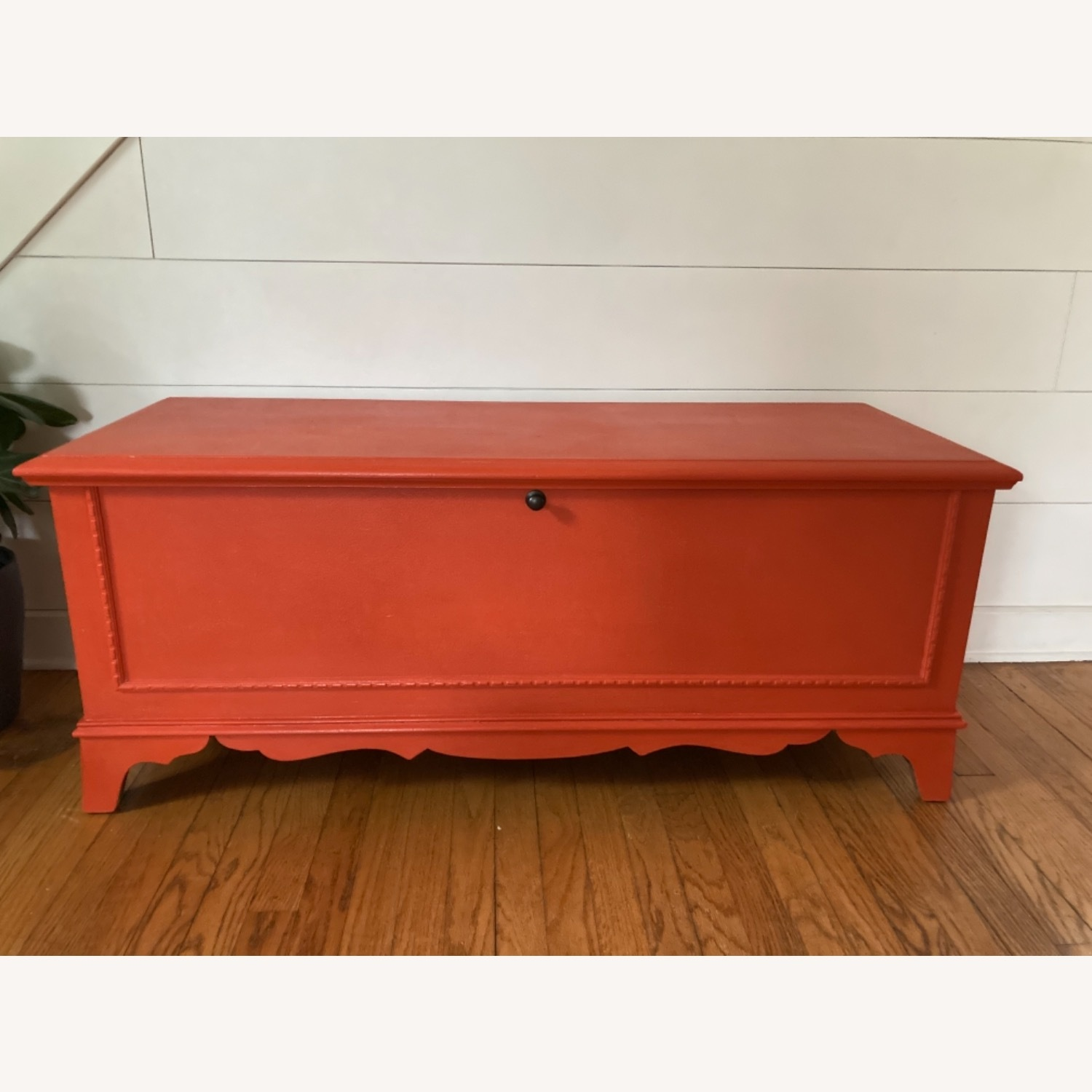 Charming Refinished Cedar Chest - image-1