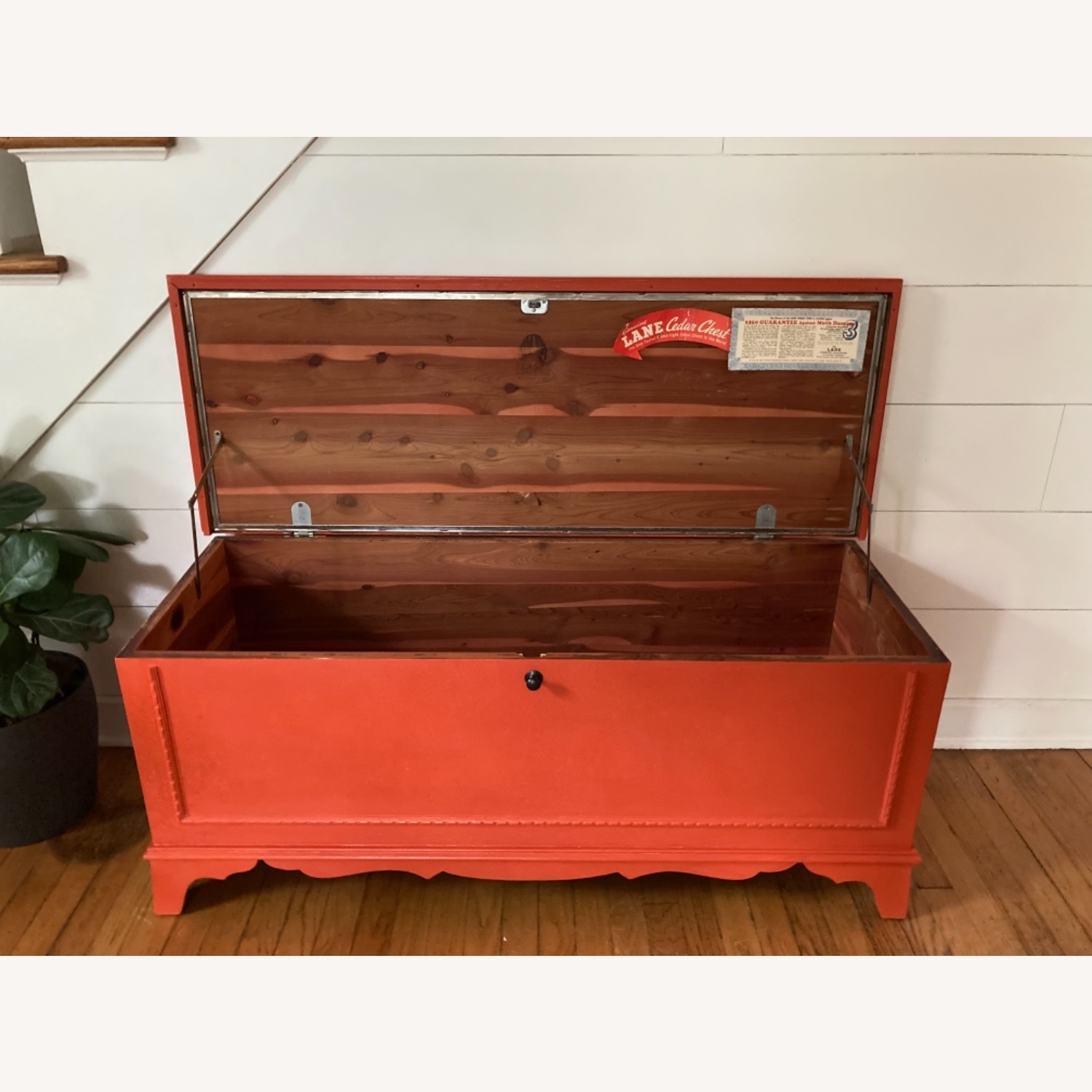 Charming Refinished Cedar Chest - image-4