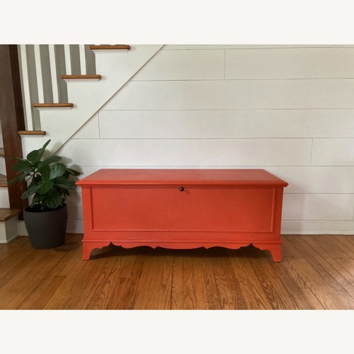 Used Charming Refinished Cedar Chest for sale on AptDeco
