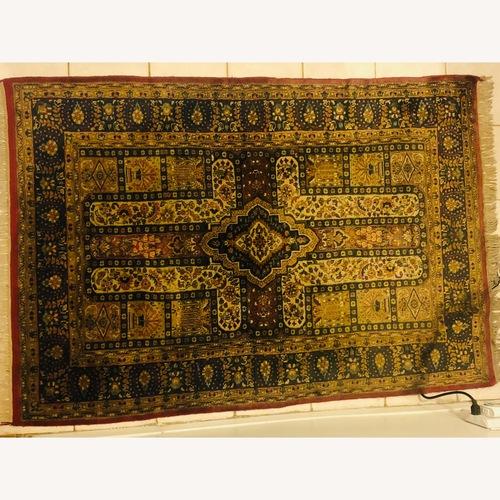 Used Woven Indian Rug for sale on AptDeco