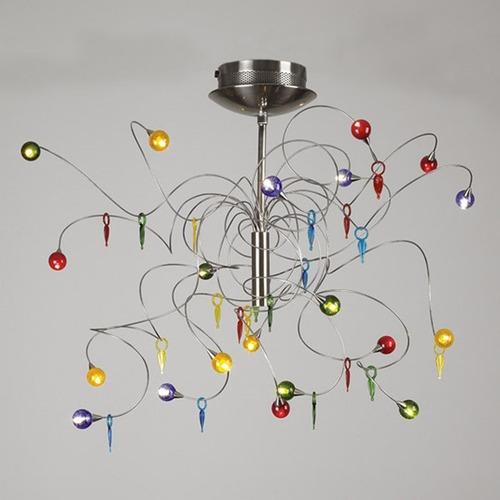 Used PLC Lightning NAUTILUS Ceiling Light Fixture for sale on AptDeco