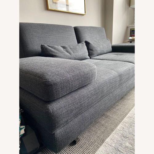 Used Lazzoni Mony Loveseat Gray for sale on AptDeco