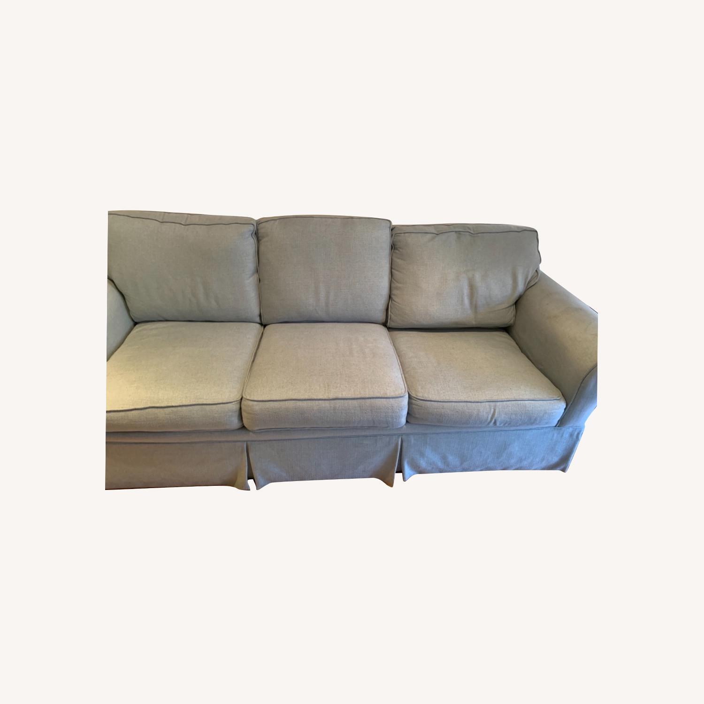 Raymour & Flanigan Sleeper Sofa w Memory Foam - image-0