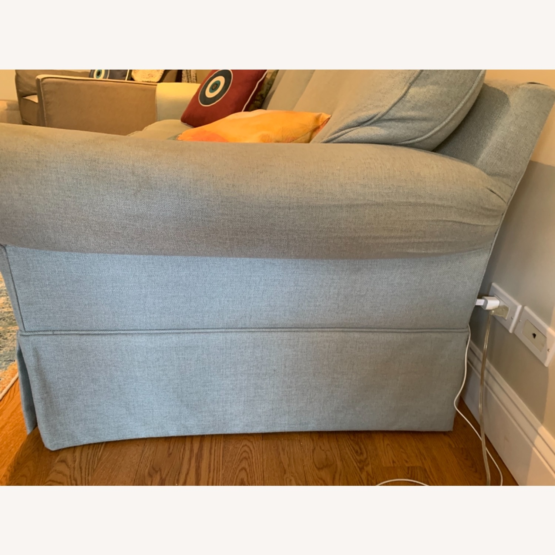 Raymour & Flanigan Sleeper Sofa w Memory Foam - image-2