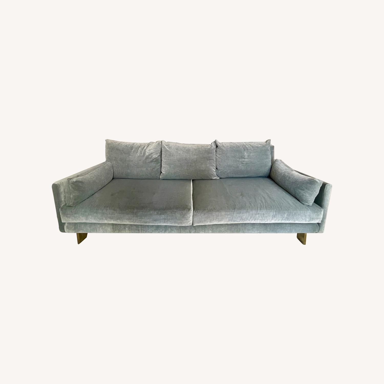 Jonathan Adler Malibu Sofa With Custom Fabric - image-0