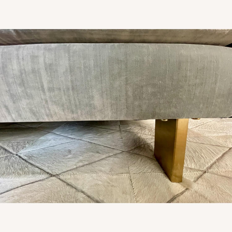 Jonathan Adler Malibu Sofa With Custom Fabric - image-4