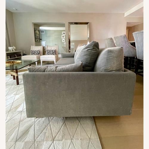 Used Jonathan Adler Malibu Sofa With Custom Fabric for sale on AptDeco