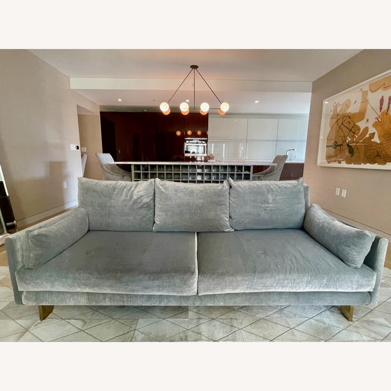 Jonathan Adler Malibu Sofa With Custom Fabric - image-1