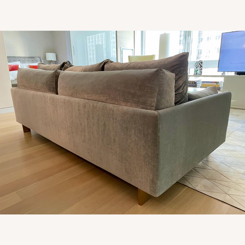 Jonathan Adler Malibu Sofa With Custom Fabric - image-3