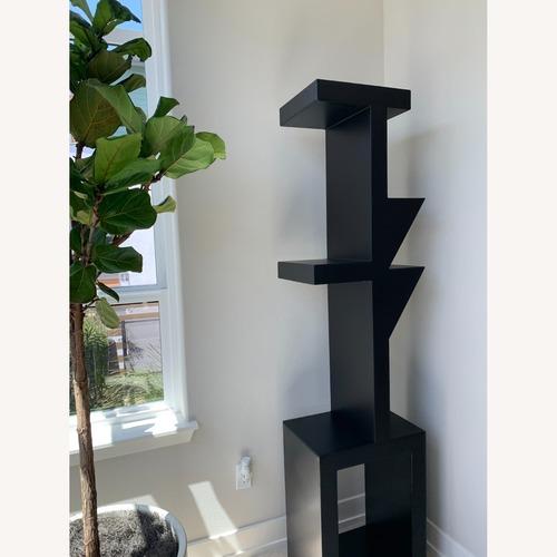 Used NOIR Furniture Modern Black Metal Bookshelf for sale on AptDeco