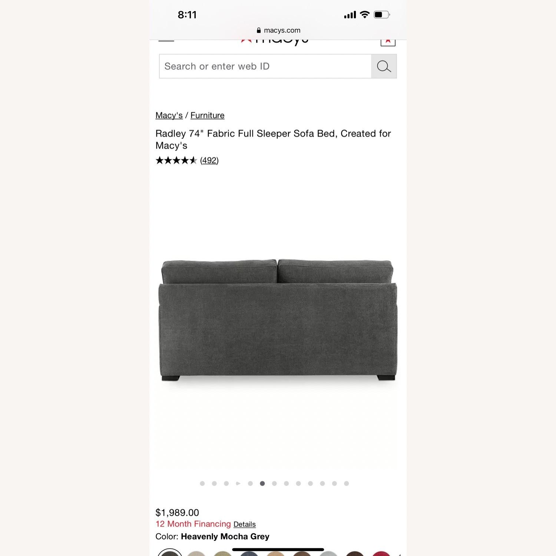 Macy's Full Sleeper Sofa - image-4