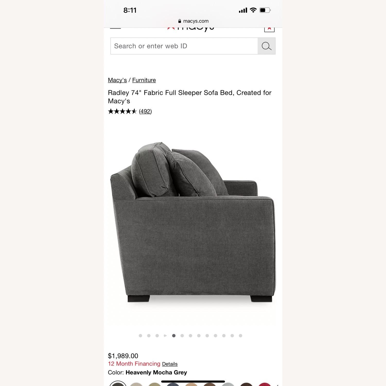 Macy's Full Sleeper Sofa - image-3