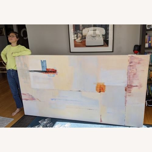Used Large Abstract Painting for sale on AptDeco
