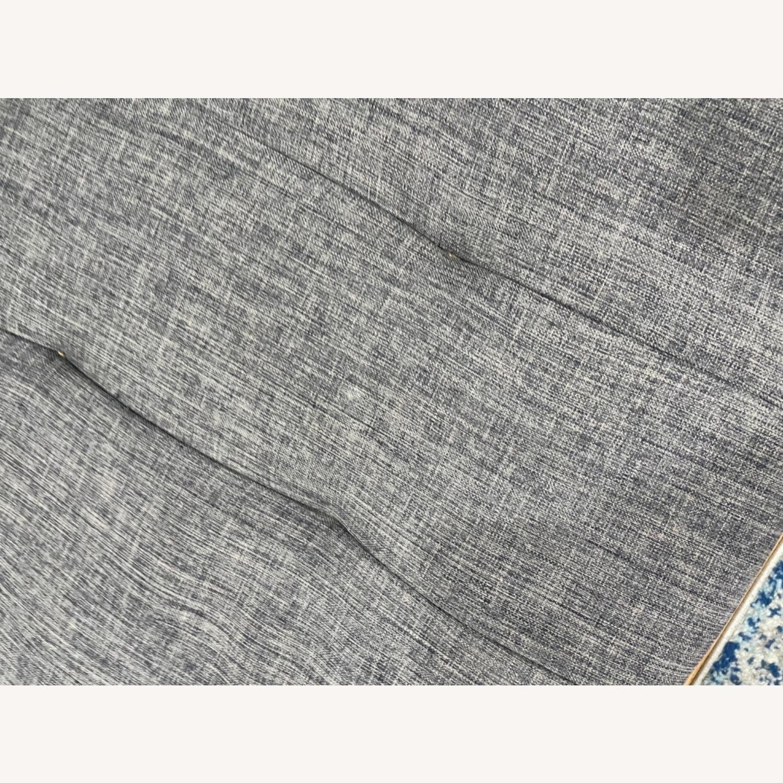 Abbyson Clayton Arctic Grey Fabric Sleeper Sofa - image-4