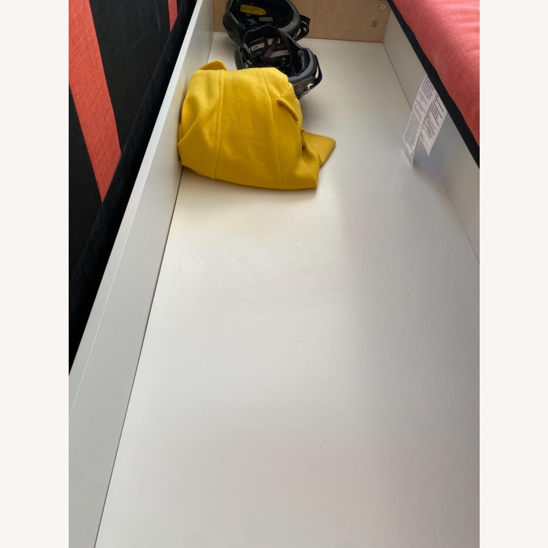 IKEA Red Sleeper Sofa - image-4