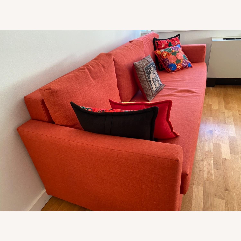 IKEA Red Sleeper Sofa - image-3