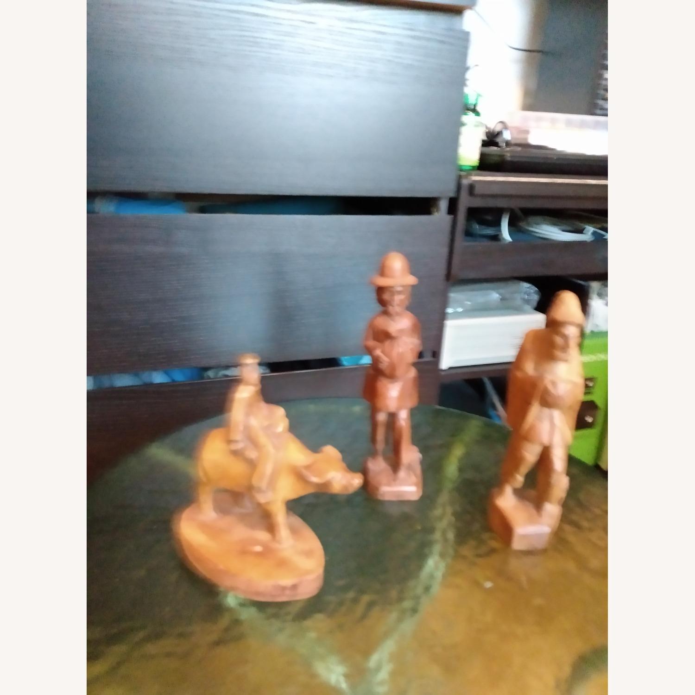 Wooden Figurines (3) - image-1
