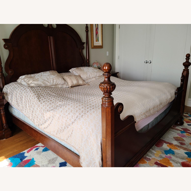 Mahagony King Bed - image-3