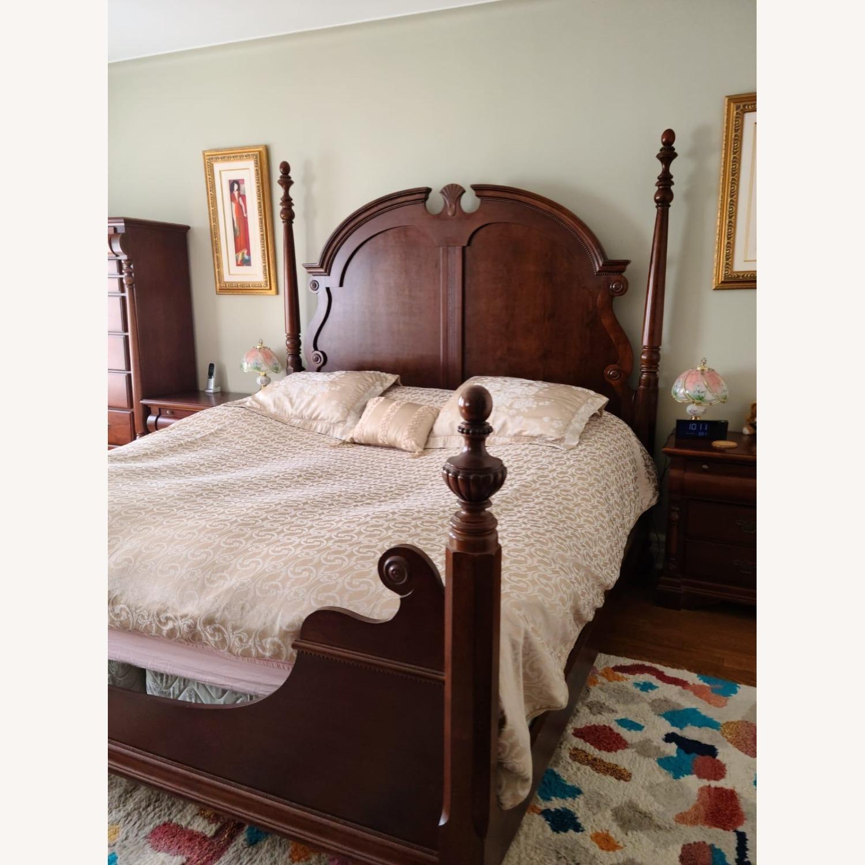 Mahagony King Bed - image-1