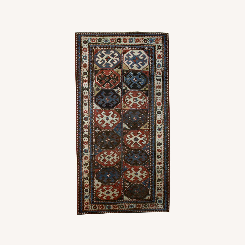 Mohan Caucasian Rug 8`2x3`8 - image-0