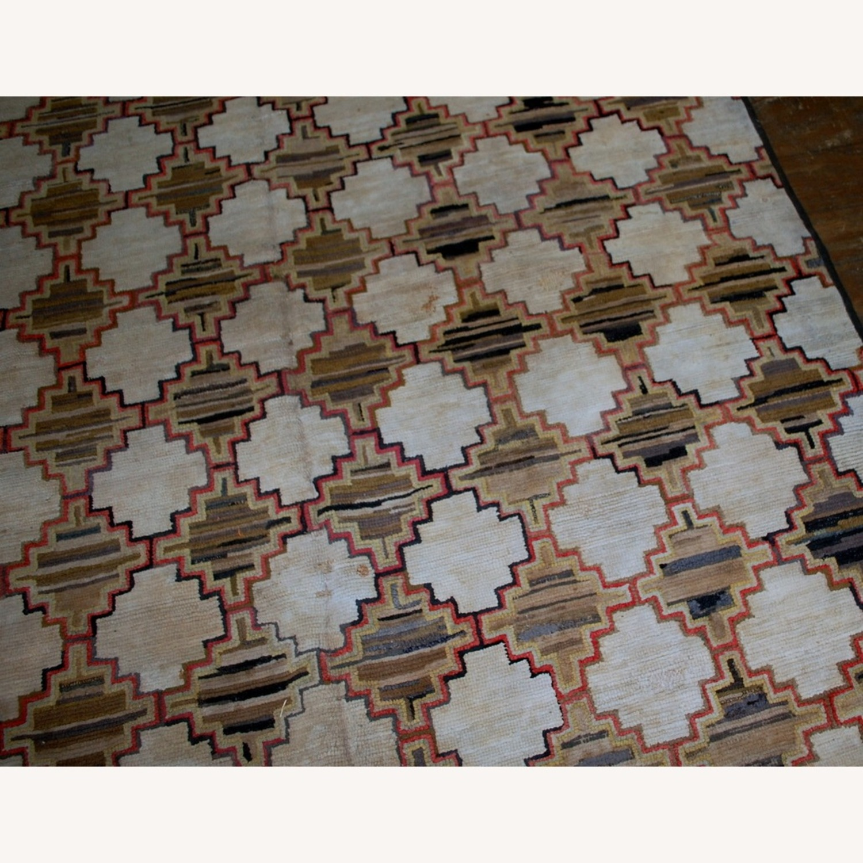 Hooked Rug 7`9x5`10 - image-7