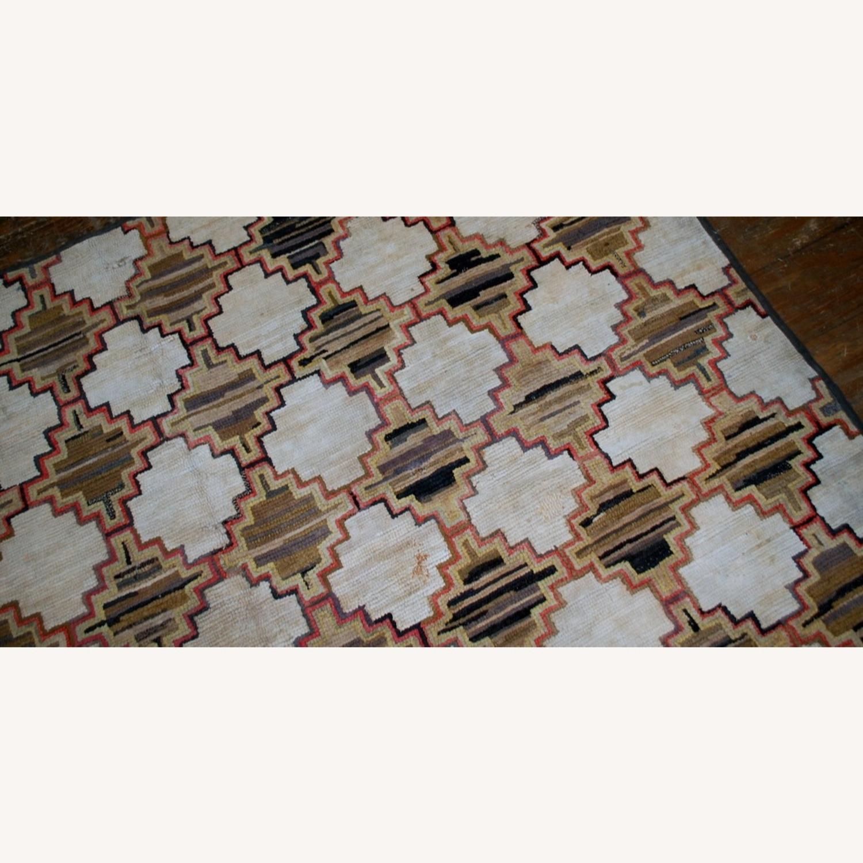 Hooked Rug 7`9x5`10 - image-6