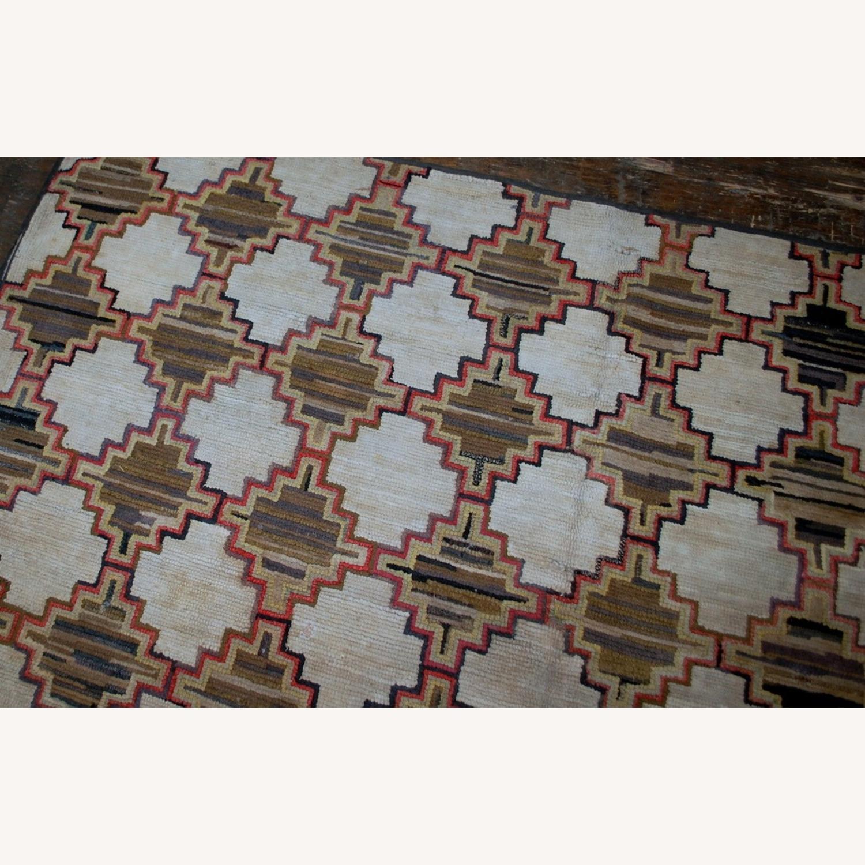 Hooked Rug 7`9x5`10 - image-5