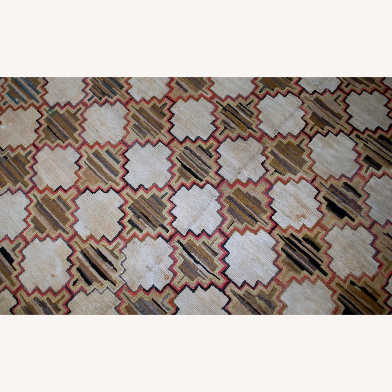 Hooked Rug 7`9x5`10 - image-4