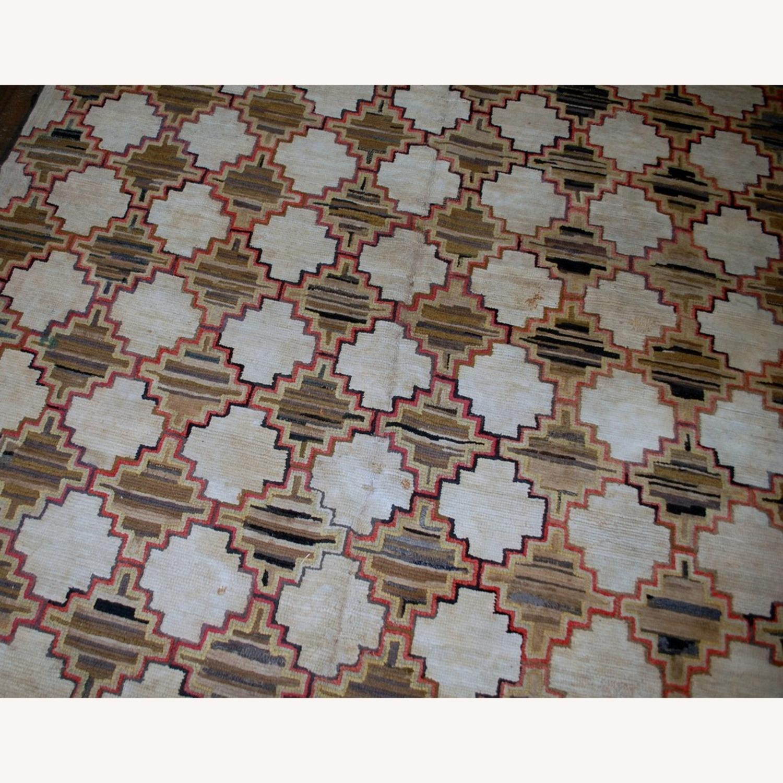 Hooked Rug 7`9x5`10 - image-8
