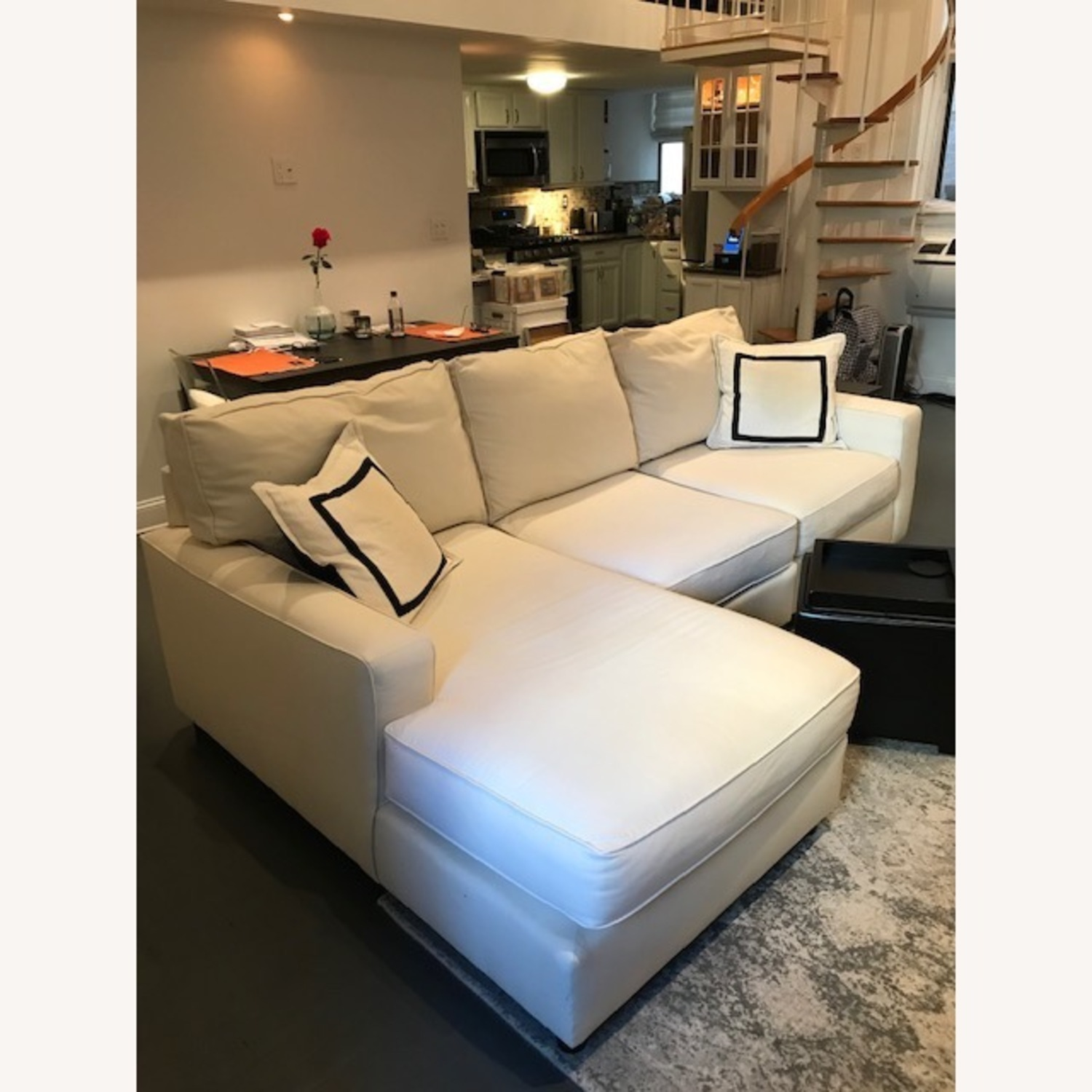 Pottery Barn Comfort Collection 3 Piece Sectional - image-2