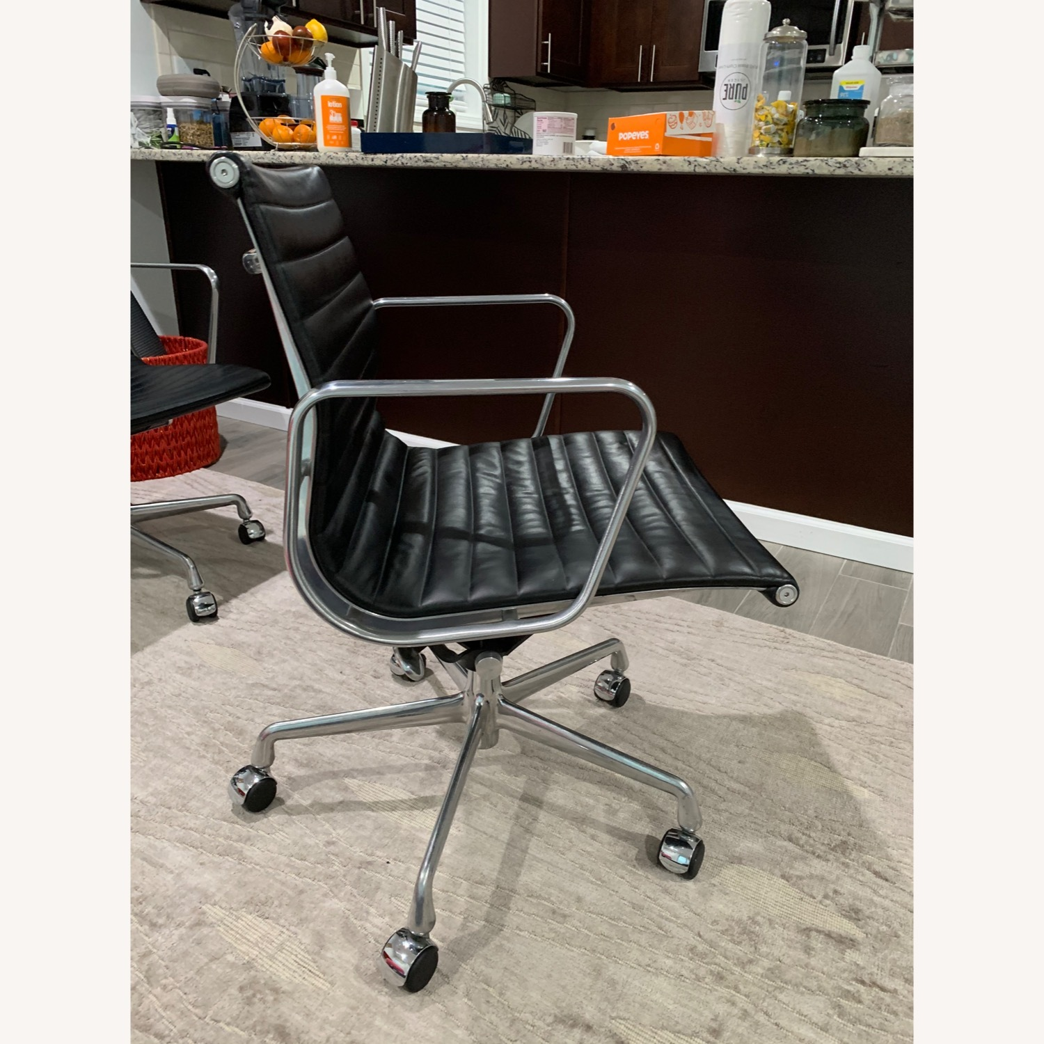 Herman Miller Eames Aluminum Group Chairs - image-5