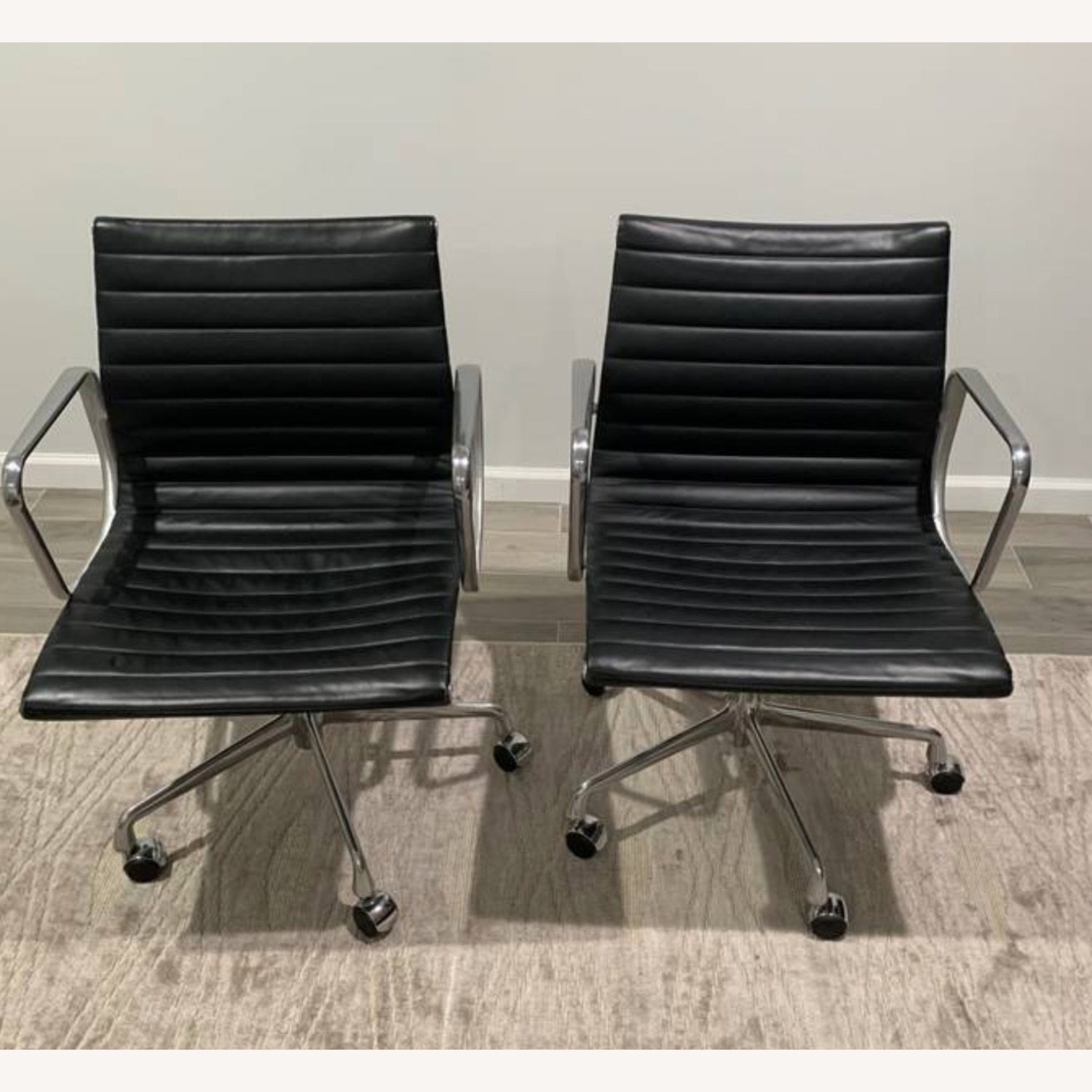 Herman Miller Eames Aluminum Group Chairs - image-1