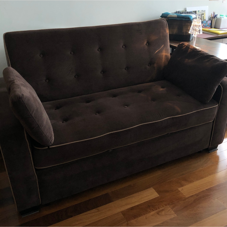 Serta Convertible Full Sleeper Sofa - image-2