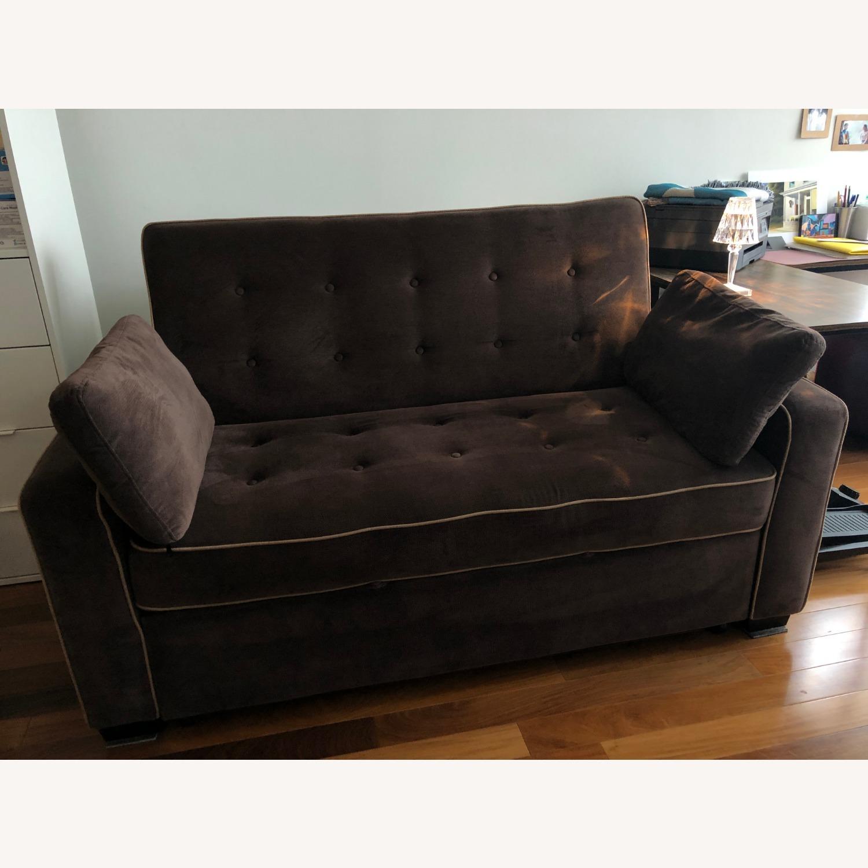 Serta Convertible Full Sleeper Sofa - image-1