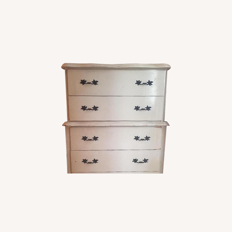 Vintage Solid Wooden 6-Drawer Dresser - image-0
