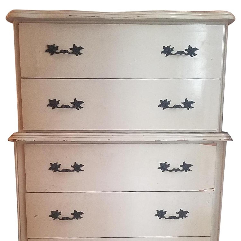 Vintage Solid Wooden 6-Drawer Dresser - image-1