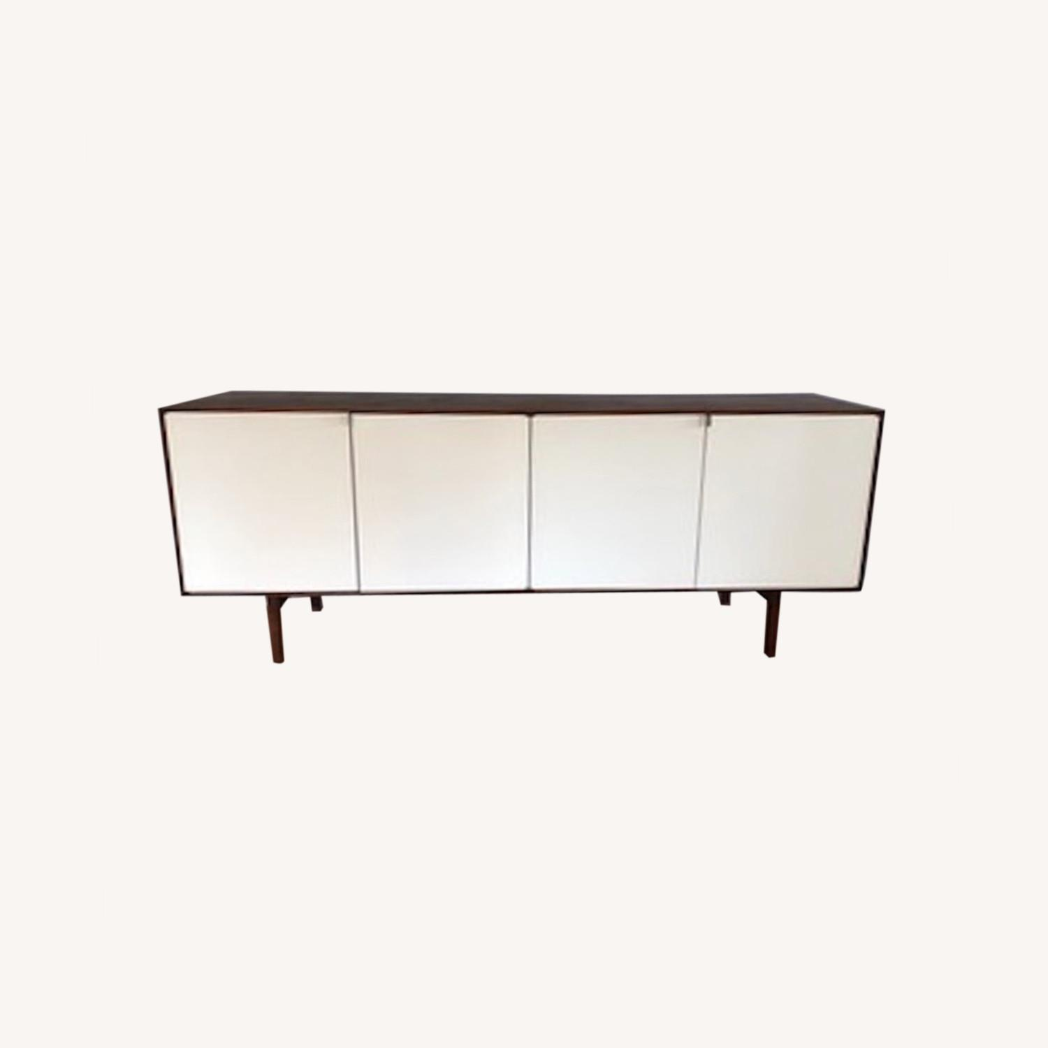 Vintage Florence Knoll Mid-Century Credenza - image-0