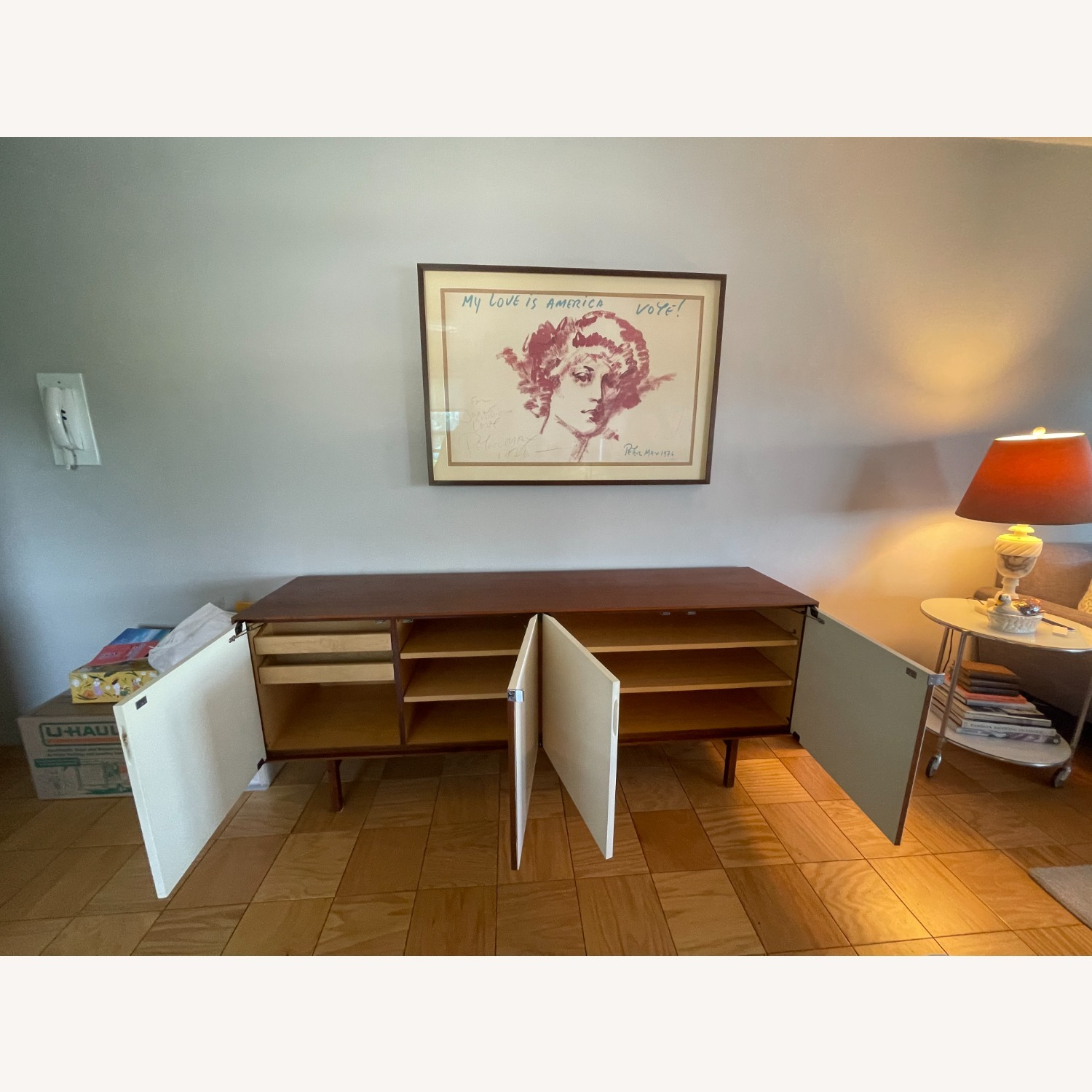 Vintage Florence Knoll Mid-Century Credenza - image-10